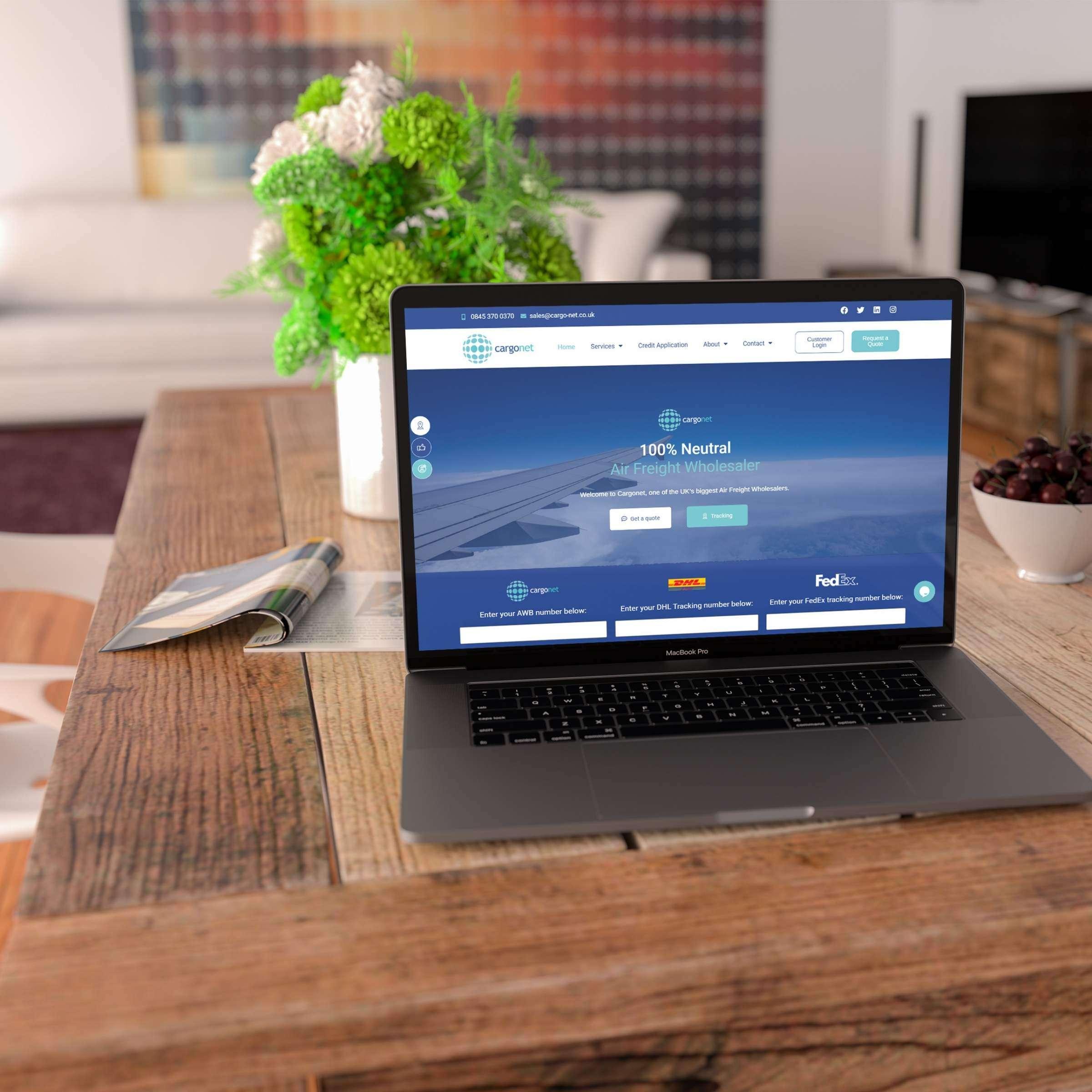 Cargonet Website