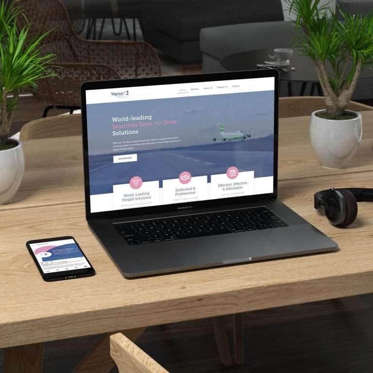 Vapour Logistics Website